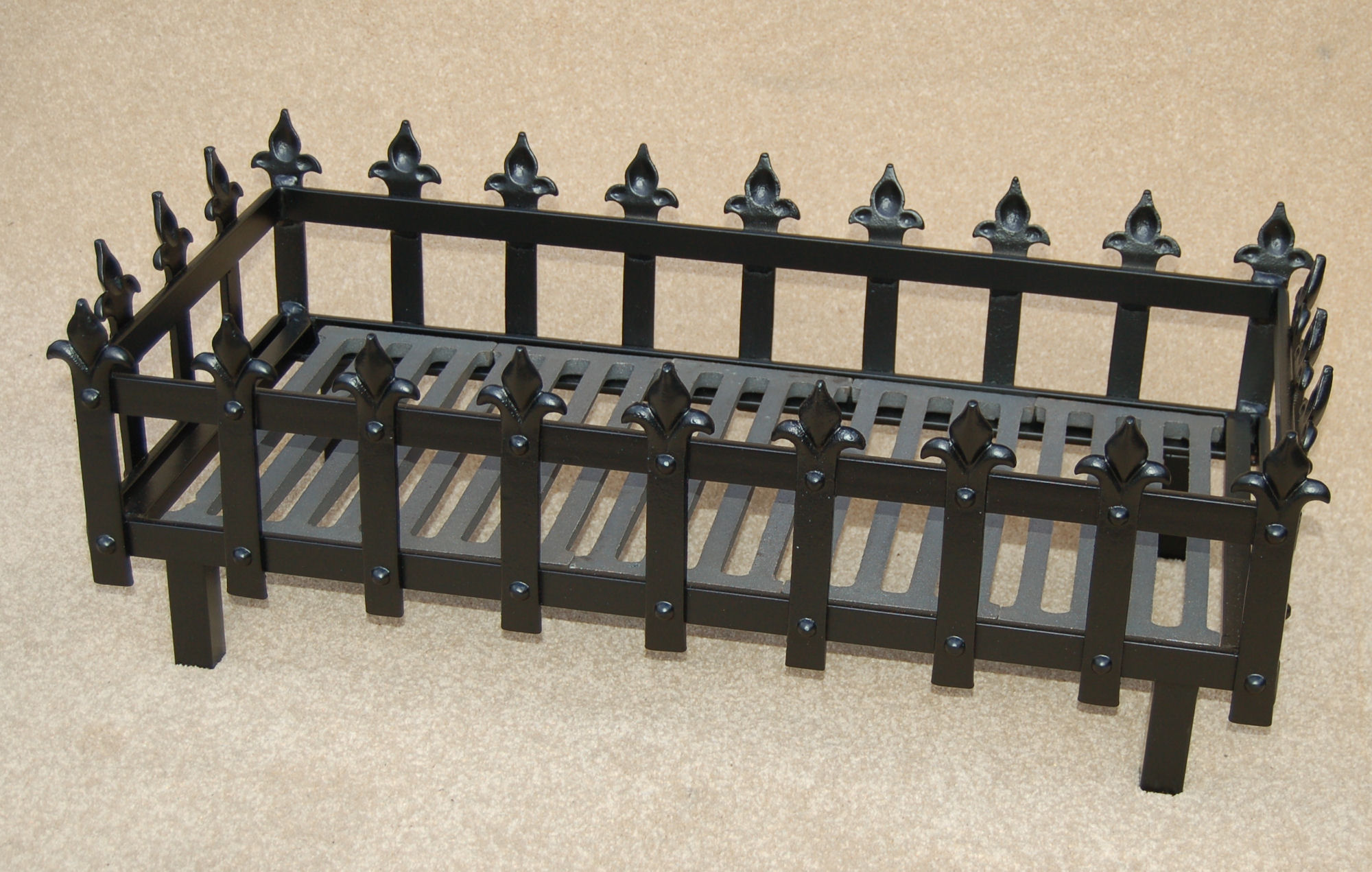 cast iron small fire fireplace grate dog accessories flat